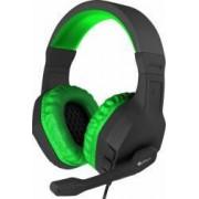 Casti Gaming Natec Genesis Argon 200 Green