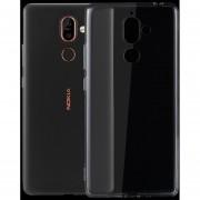Para Nokia 7 Plus 0,75 Ultra Delgada De TPU Transparente Estuche Protector (transparente)