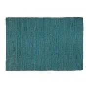 Alfombra azul petróleo yute 200x300cm GUNNY - Miliboo