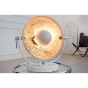Stolná lampa STUDI, 40 cm - biela, strieborná