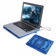 "USB Laptop Cooler Stand Base Cooler Cooling Pad voor 14 ""Of Hieronder Notebook Cooling Pads Fans YOSOO"
