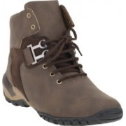 Footista Falcon Boots For Men(Brown)