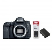 Canon EOS 6D Mark II Body Digital SLR Camera (Include 1 Extra Genuine Battery LP-E6N)