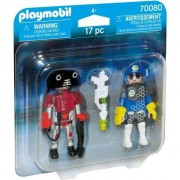 Playmobil Space - Set 2 figurine - Politist si hot
