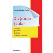 Dictionar scolar de sinonime antonime paronime expresii si locutiuni