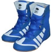 Port Pro-Combbat Boxing & Wrestling Shoes For Men(Blue)