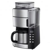 Aparat de cafea cu filtru Russell Hobbs Grind & Brew 25620-56,1000W, 1,25 L, 10 cesti, Negru-oțel