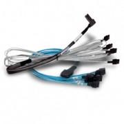 BROADCOM CBL-SAS8087OCF-06M mSAS to 4xSAS w/power Int. cable