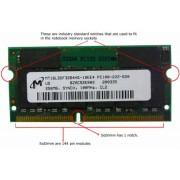 RAM памет за лаптоп 256MB SDRAM PC100 144-pin SODIMM (16 chips)