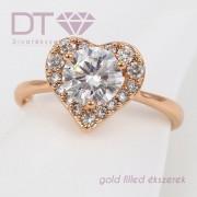 Crystal Heart, női gyűrű
