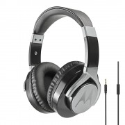HEADPHONES, Motorola PULSE MAX WIRED, Bluetooth, Mic, Black