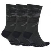 Носки до середины голени для тренинга Nike Everyday Max Cushion Camo Crew (3 пары)