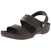 Crocs Men's Classic Sandal Espresso Rubber Sandals and Floaters - M13