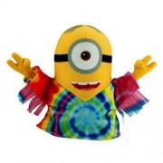 """Despicable Me """"The Minions"""" 2015 Official Movie Hippie Minion Plush Toy"""
