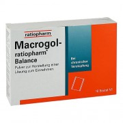 ratiopharm GmbH MACROGOL ratiopharm Balance Plv.z.H.e.L.z.Einn. 10 St