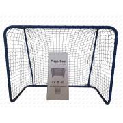 Acito floorball kapu PLAYER GOAL 115x90x50 cm, univerzális kiskapu hálótartó merevítővel és hálóval