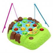 Alligator Game Toy Hooked Gators Fishing War Play Set For 3+ Aged Preschoolers Act Fast Before The Gator Munches Your Catch!