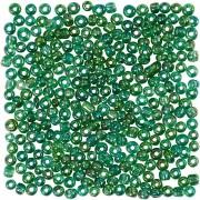 Creativ Company Rocaipärlor, stl. 8/0, dia. 3 mm, 25 g, grönolja