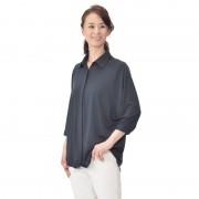 DEBUTTO キレイで着やすいとろみシャツ【QVC】40代・50代レディースファッション