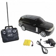 Zaprap Model Car Remote control-(1-24) Range Rover Rechargable Car-Black
