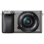 Sony Korpus + obiektyw Alpha ILCE-6000 + obiektyw SELP 16-50mm grafitowy