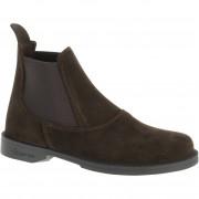 Fouganza Boots équitation enfant CLASSIC cuir marron - Fouganza - 34