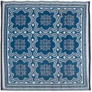 Esschert Design Buitenkleed Delfts blauw