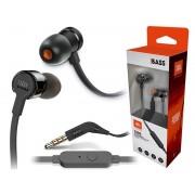 JBL Słuchawki dokanałowe JBL T290 z mikrofonem Czarne