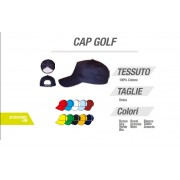 Cappello Golf Zeus