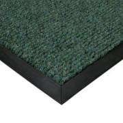 Zelená textilní zátěžová čistící rohož Catrine - 200 x 100 x 1,35 cm (77222709) FLOMAT