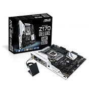 Asus Z170-Deluxe moederbord fitting 1151 (ATX, Intel Z170, 4 x ddr4-geheugen, USB 3.1, M.2 Interface)