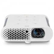 Мултимедиен проектор BenQ GS1 Portable, DLP, LED, 720p (1280x720), 100 000:1, 300 ANSI Lumens, HDMI, USB 3.0, WiFi, BT 4.0, 3D Ready, 9H.JFL77.59E