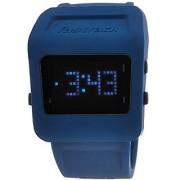 Fastrack Quartz Blue Square Men Watch 38011PP02