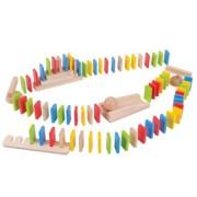 Domino din lemn BigJigs 108 piese