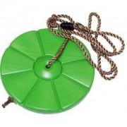 Express Schommeldisk kunststof groen