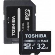 Card de Memorie Toshiba Micro SDHC 32GB M203 Class 10 UHS- cu Adaptor
