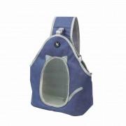 TAILUP Pet Dog Cat Puppy Carrier Chest Bag Outdoor Travel Pet Shoulder Bag [Cloth Type/M Size] - Blue