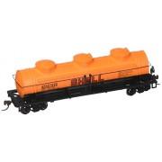 Bachmann Trains Industries Shell 1253 40 Three-Dome Tank Car Ho Scale Train