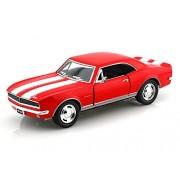 Kinsmart 1:37 Scale 1967 Chevrolet Camaro Z/28 Toy Car, Red