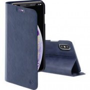 Hama Guard Case Pro Booklet iPhone XS Max modrá