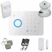 Kit alarme sans fil Gsm T2 + Caméra IP
