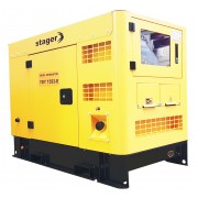 Generator insonorizat Stager YDY15S3-E, silent 1500rpm, diesel, trifazat