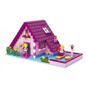 Ausini Fairyland Bricks Vacation Cotage 277pc Educational Set Compatible to Lego Parts - Great Gift Idea for Children