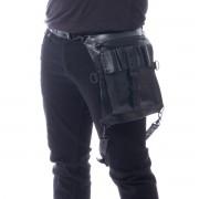 taška (ledvinka) VIXXSIN - JAKAL - UNISEX - BLACK - POI810