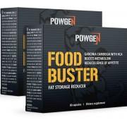 PowGen Food Buster 1+1 ZDARMA: pro potlačení chuti k jídlu a nižší ukládání tukových zásob. Obsahuje 2x 60 kapslí na 2 měsíce.