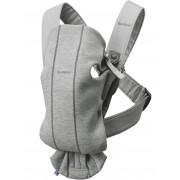 BABYBJÖRN Porte-bébé Mini - Gris clair, 3D Jersey