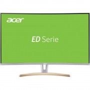 "LED zaslon 80 cm (31.5 "") Acer ED323QUR Curved ATT.CALC.EEK A (A++ - E) 2560 x 1440 piksel QHD 4 ms Audio Line-out, DisplayPort,"