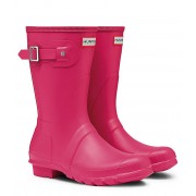 Hunter Regenlaarzen Boots Original Short Roze