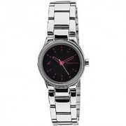 Fastrack Quartz Black Round Women Watch 6114SM02