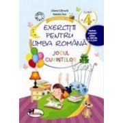 Culegere de exercitii pentru limba romana Jocul cuvintelor Clasa a IV-a